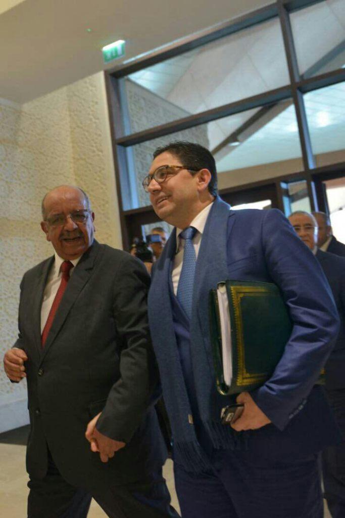 عبد القادر مساهل وناصر بوريطة