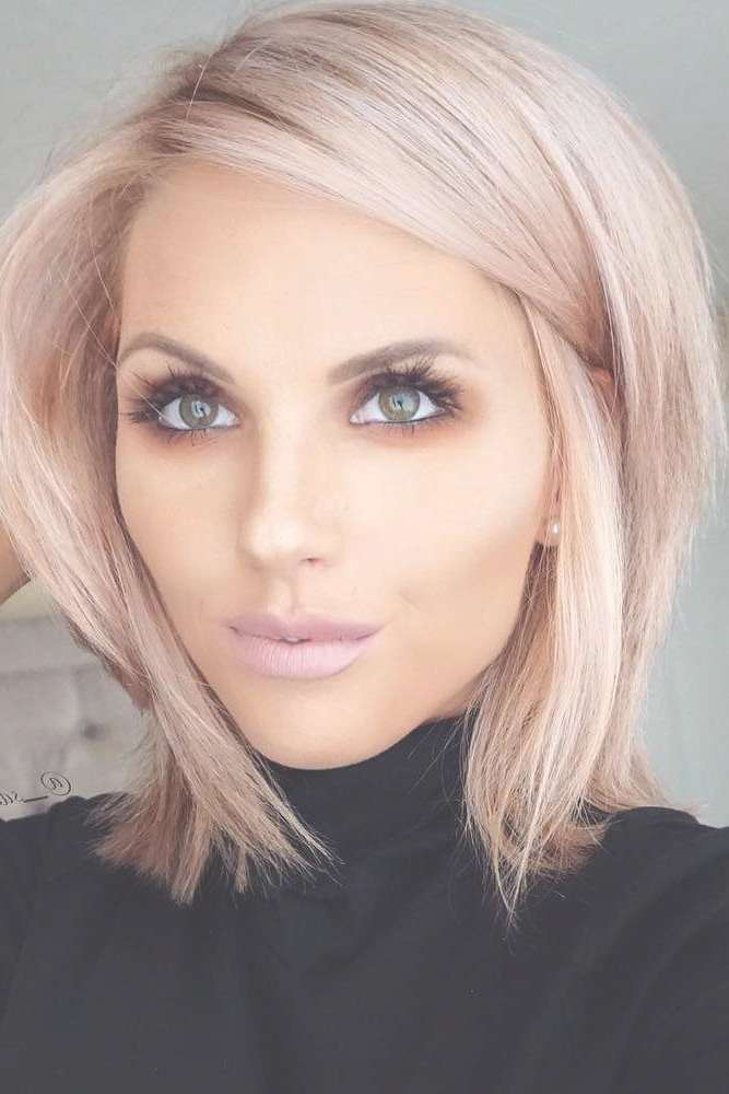 Haircuts Trends 2017 2018 Chic Blunt Bob Hairstyles â Flickr