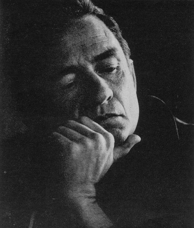 Johnny Cash from the April 29, 1969, issue of LOOK magazine, photographed by Joel Baldwin.