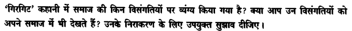 Chapter Wise Important Questions CBSE Class 10 Hindi B - गिरगिट 19