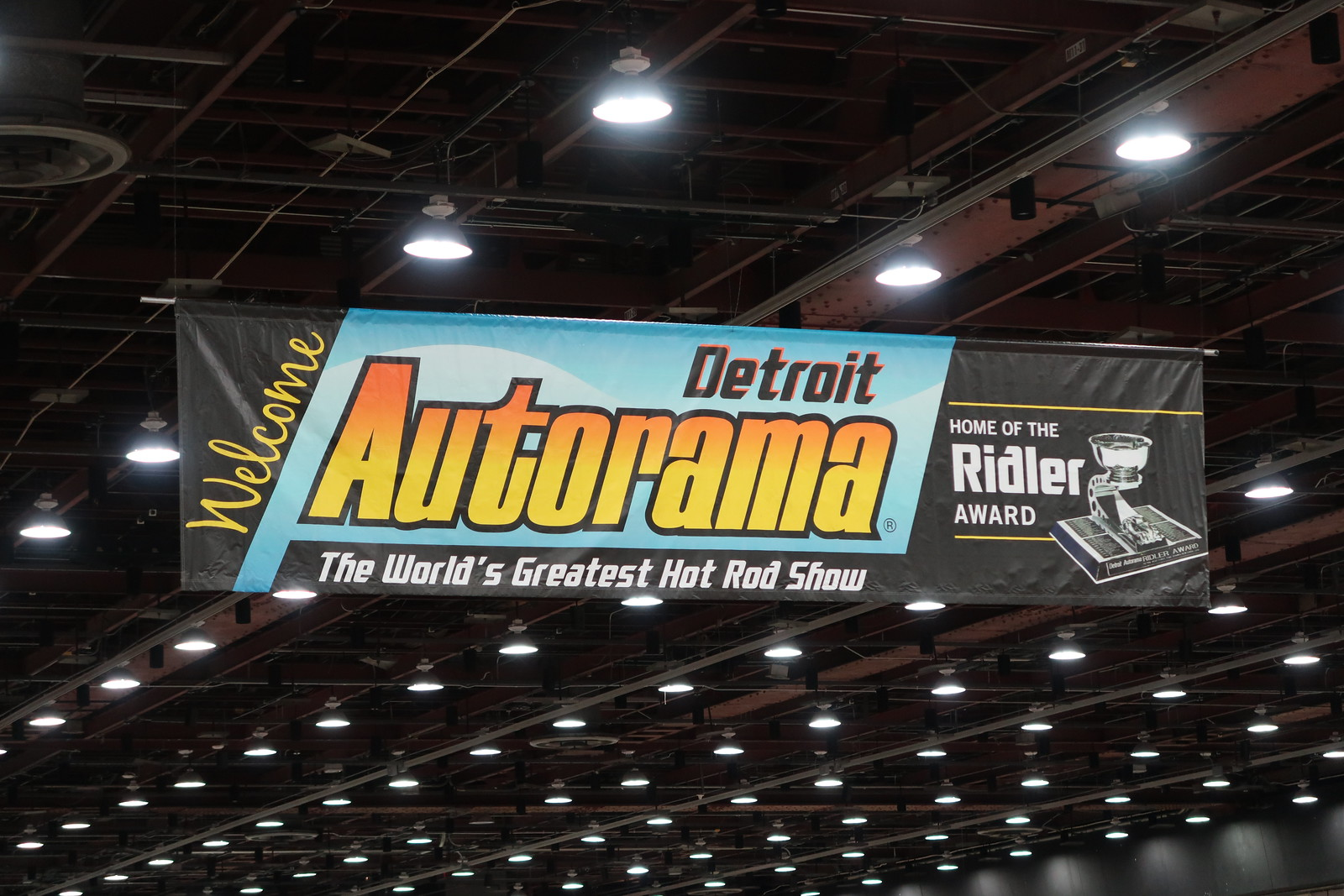 2018 Detroit Autorama, Cobo Center, Detroit, Michigan - 3/3/18