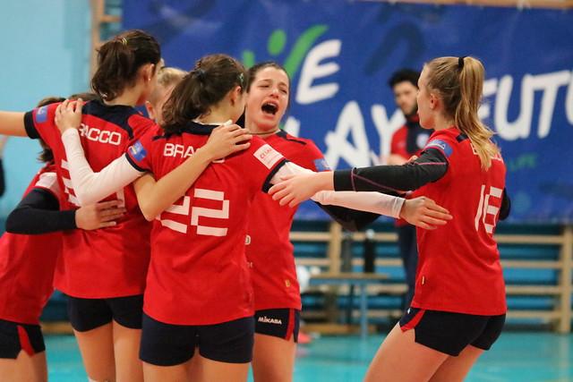 Serie D 3 Marzo 2018  Bracco Pro Patria  - Net Volley Cinisello 0 - 3