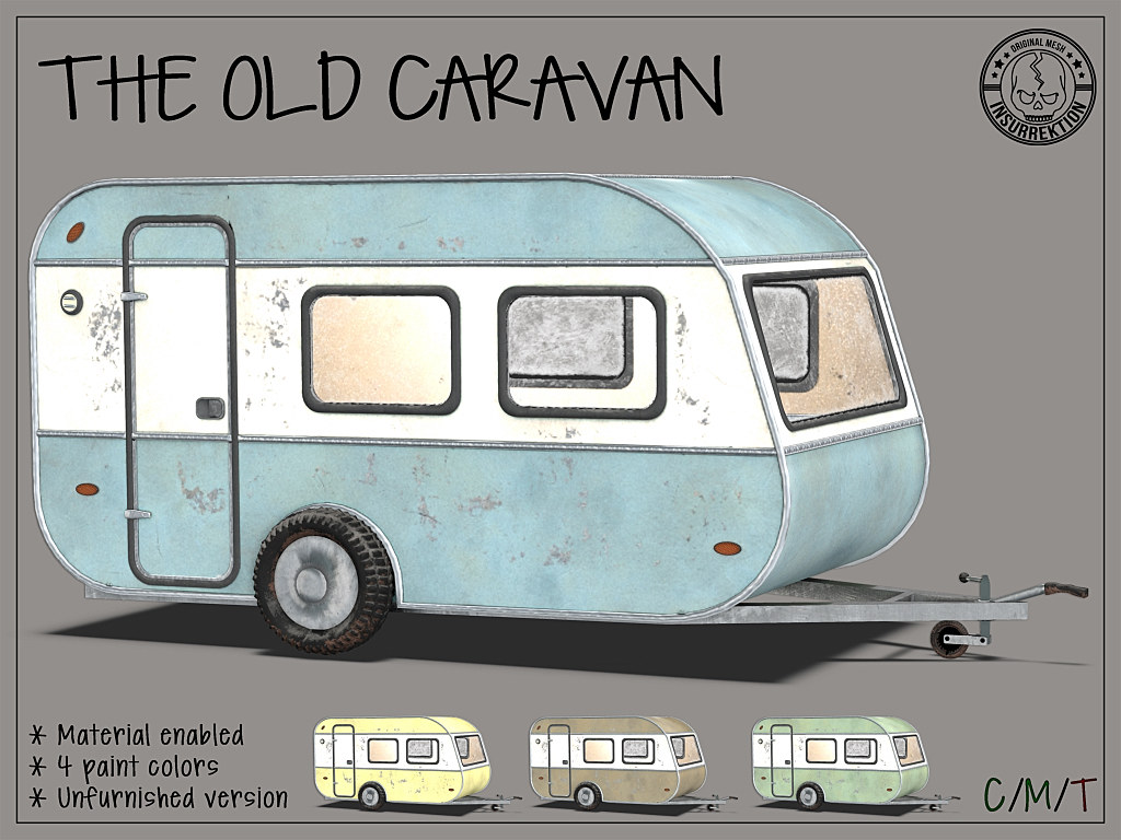 [IK] The Old Caravan Unfurnished - TeleportHub.com Live!