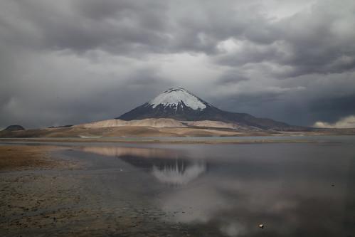 lago chungará parinacota lauca parque nacional national park chile nd100 long time exposure nd1000