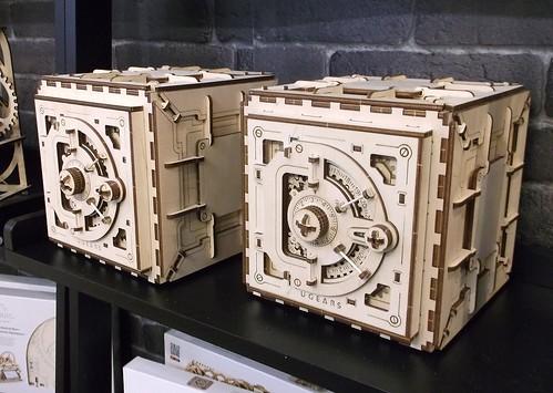 Wooden safes