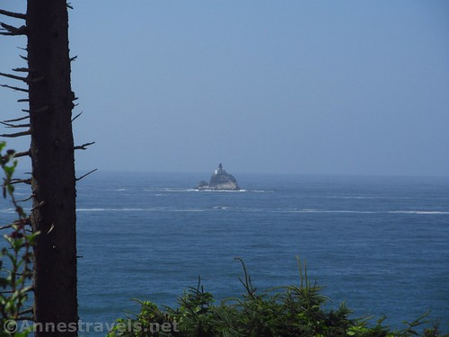 Tillamook Head Light from Ecola Point in Ecola State Park, Oregon