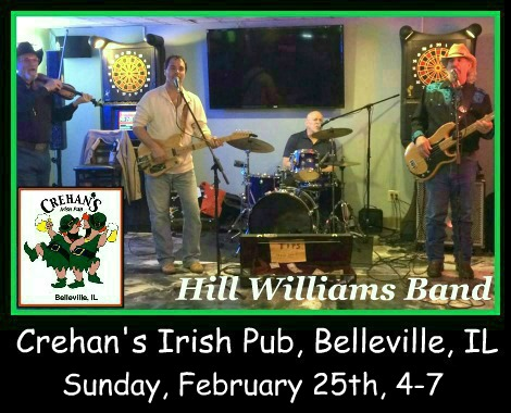 Hill Williams Band 2-25-18