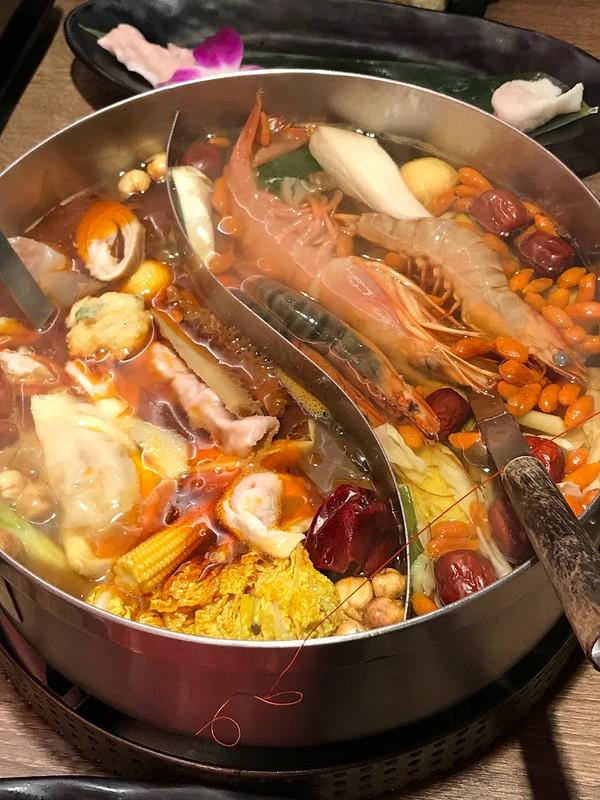 台北新馬辣火鍋 Xin Mala Hotpot in Taipei