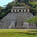 Mayan temple in the greenery por Chemose
