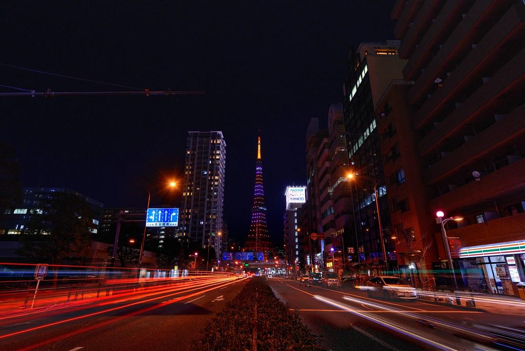 Tokyotower 東京タワーバレンタイン限定ライトアップ