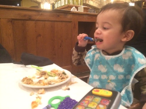 Ezra at Macaroni Grill