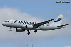 OH-LXM - 2154 - Finnair - Airbus A320-214 - Heathrow - 170402 - Steven Gray - IMG_1569