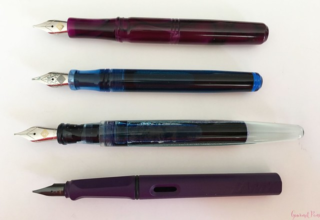 Review Franklin-Christoph Model 31 Omnis Purpurae Fountain Pen 14kt Gold Nib @1901FC 5