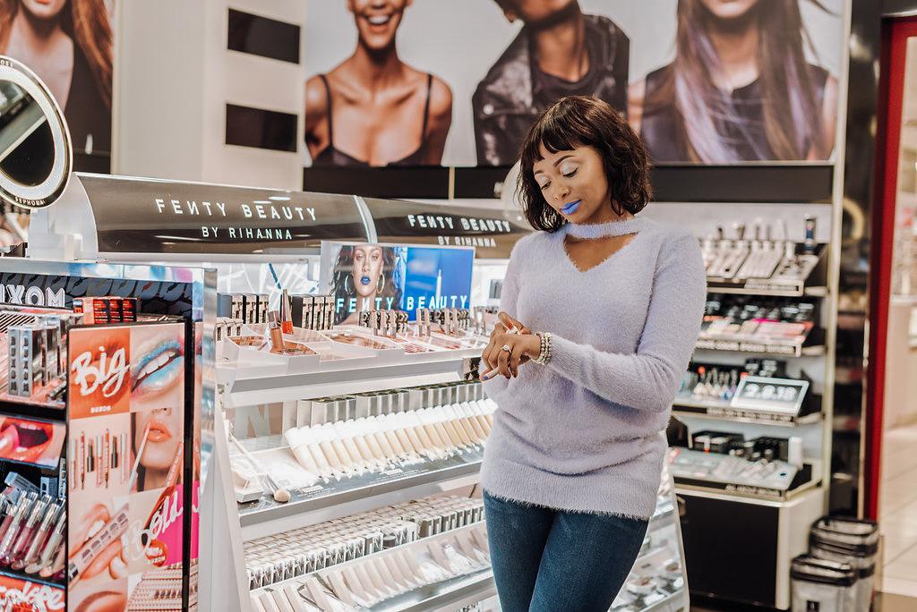 how to wear fenty beauty mattemoiselle lipsticks