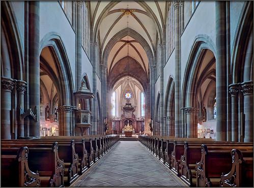 Marmoutier/Elsass – ehemalige Klosterkirche Maursmünster/former monastry church of Marmoutier