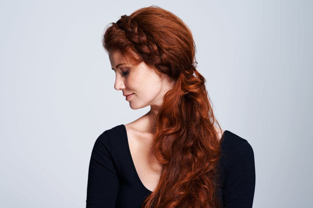 Gorgeous Valentine's Day Hairstyles For Long Thick Hair 5