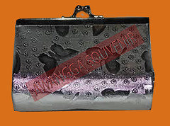 dompet holoow silver besar