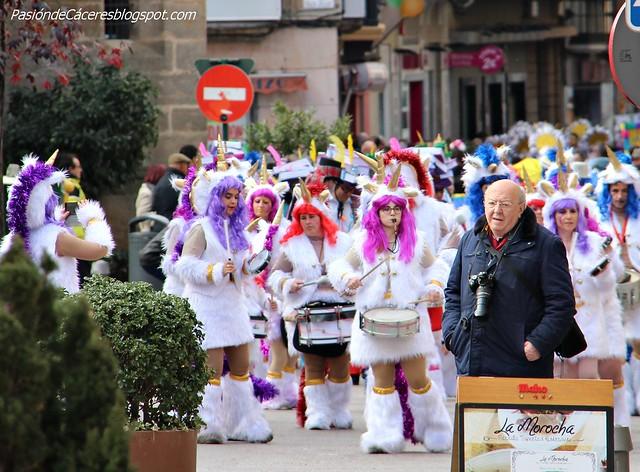Desfile matinal Carnaval de Cáceres 2018