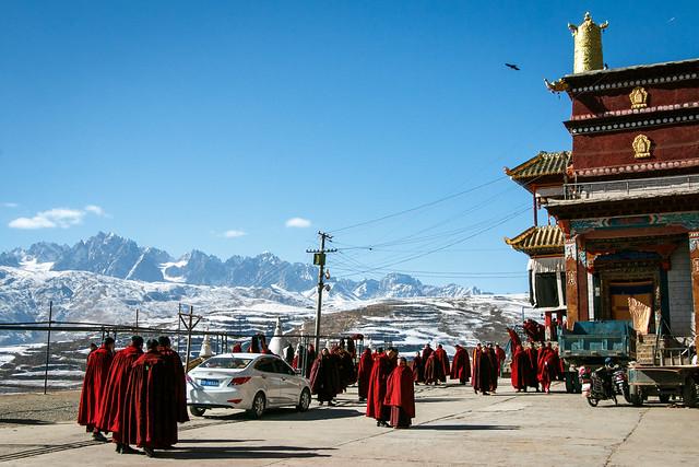 Kandze Monastery, Garzê 甘孜 カンゼゴンパ
