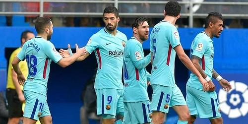 Barcelona Berhasil Mengalahkan 10 Pemain Eibar