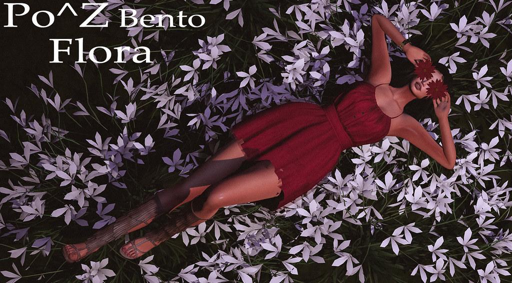 New Female Bento pose FLORA
