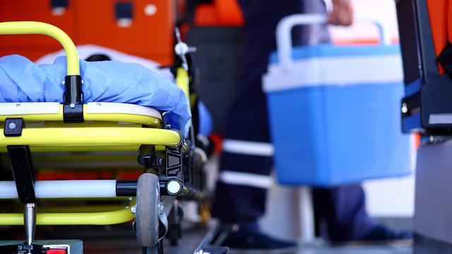 Human organ transplantation on ambulance