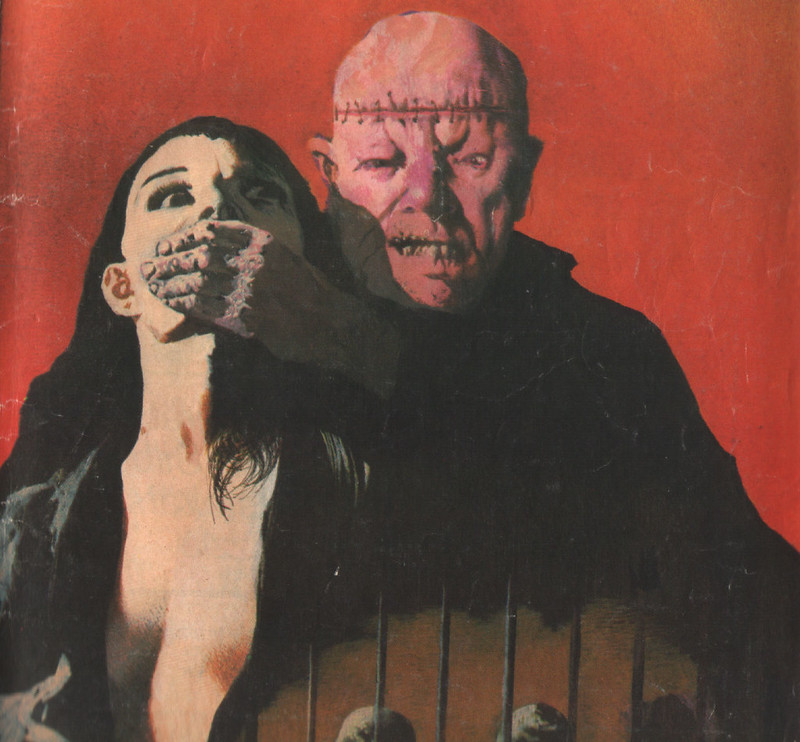 Karel Thole - Detail from Vampir Horror Roman - 033