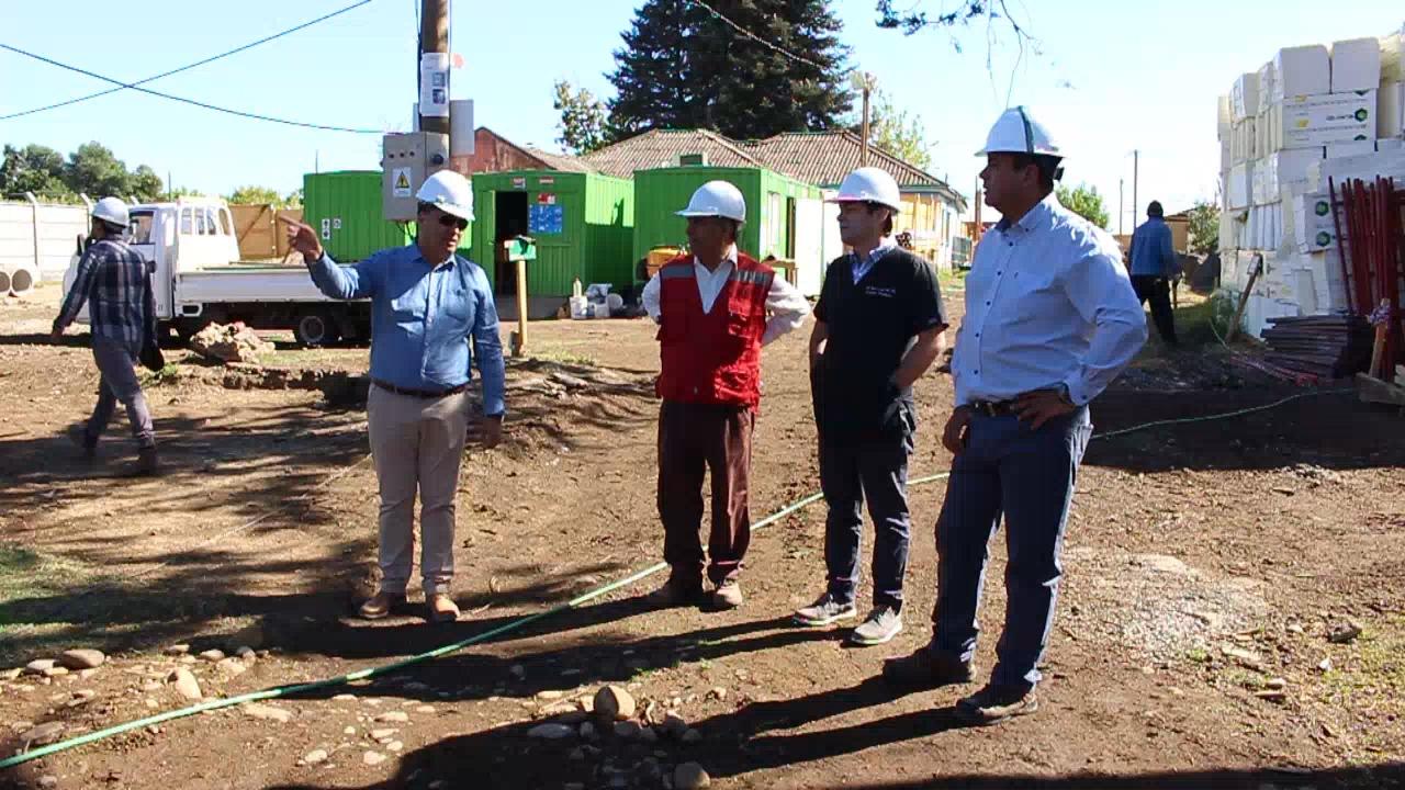 VILLA ALEGRE; Avanzan Obras de Construcción del Nuevo SAR para la comuna