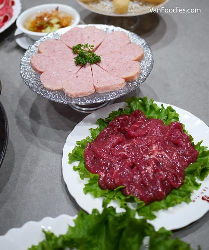 Spam & Sliced Tender Beef