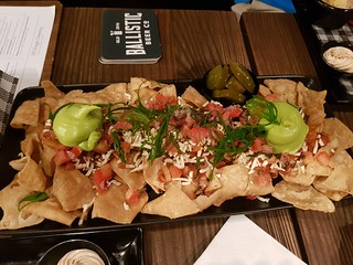 Vegan Nachos at Brewski