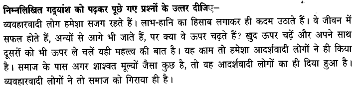 Chapter Wise Important Questions CBSE Class 10 Hindi B - पतझर में टूटी पत्तियाँ 42