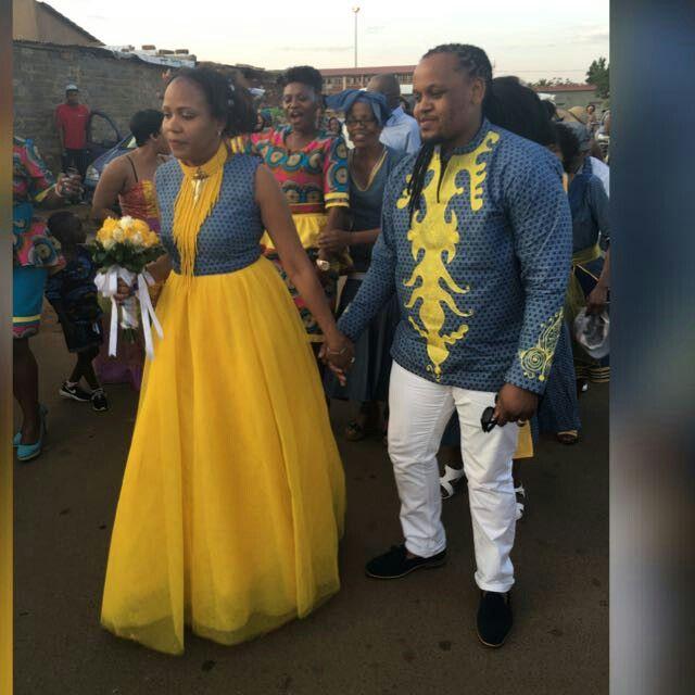 134+ Stylish Sotho Wedding Traditional Shweshwe 2018