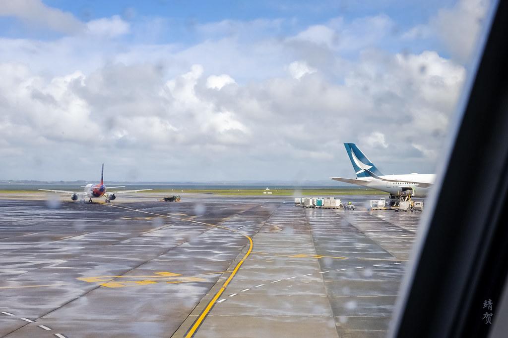 Cathay Pacific A350 at AKL
