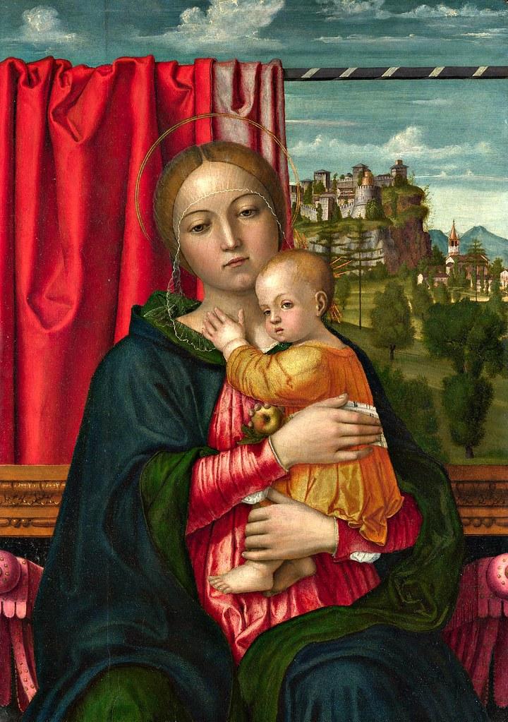 Francesco Morone - The Virgin and Child (c.1520)