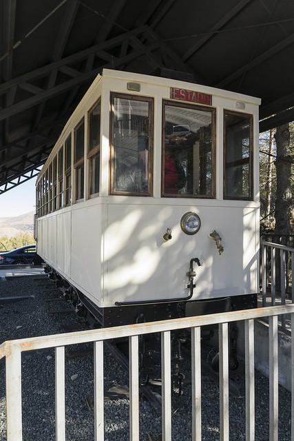 Vagón tranvía Sierra Nevada