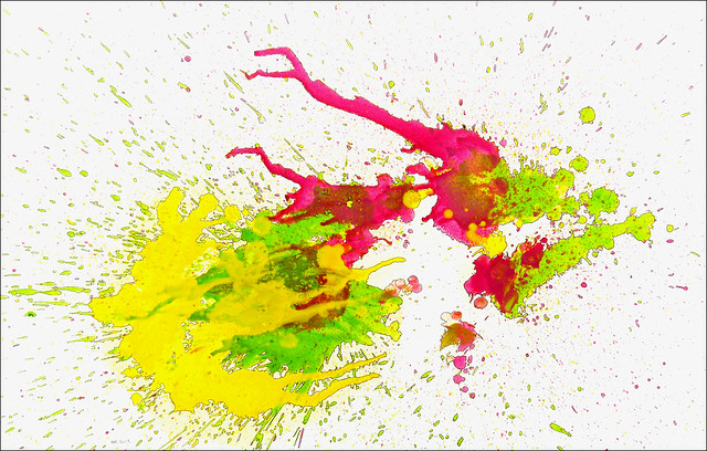 Spatter Painting No. 39., Nikon COOLPIX L22