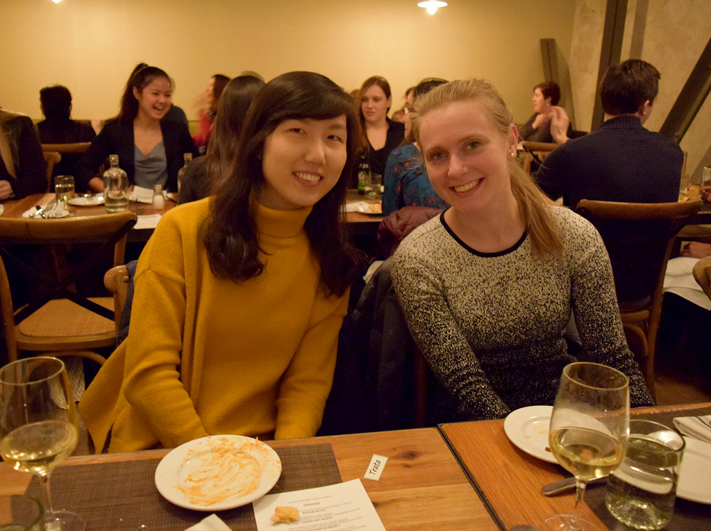 The Cell Biology of Disease (Pathology) Graduate Program held its annual recruitment dinner at TRATA on January 19.