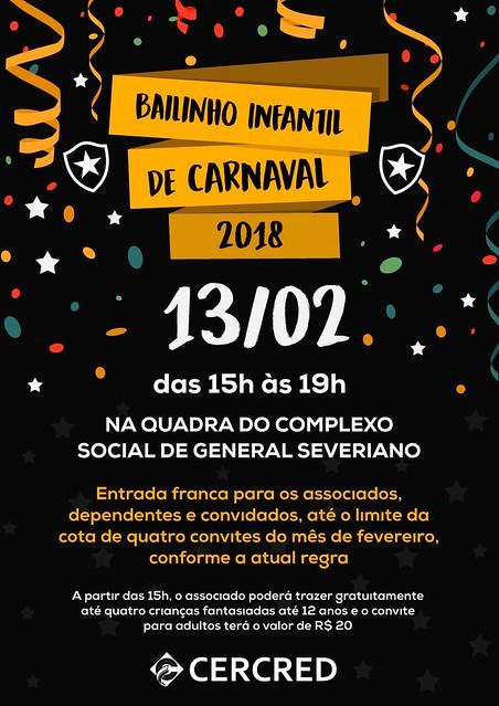Bailinho Infaltil de Carnaval