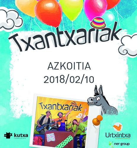 Txantxariak Azkoitian 2018-02-10