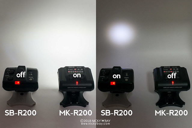 Meike MK-R200 vs Nikon SB-R200 LED Focusing Lights Comparison