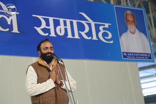 Jagir Singh Pappu from Sant Nirankari Colony, expresses his views