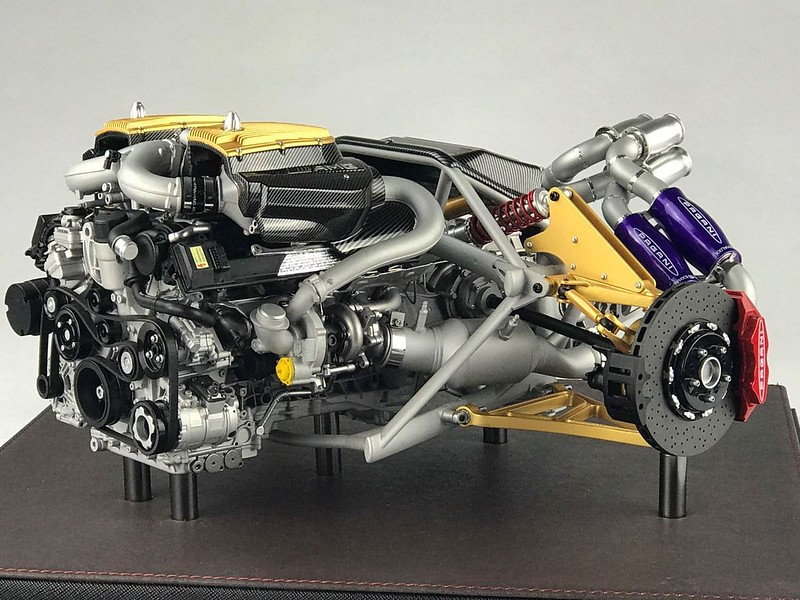 frontiart 1/6 scale pagani huayra engine - frontiart