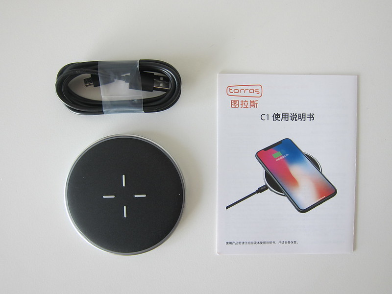 Torras C1 Wireless Charger - Box Contents