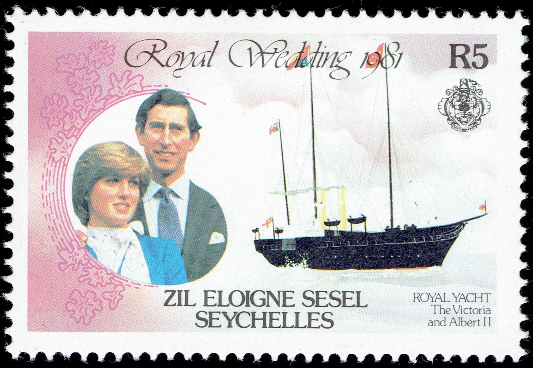 Zil Elwannyen Sesel - Scott #25 (1981)