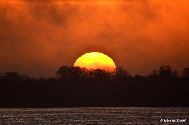 Sunrise at Circle B Bar Reserve