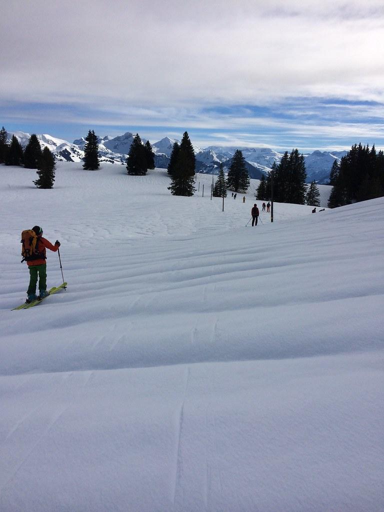 Ski- und Schneeschuhtouren Lenk 28.1 - 1.2.2018