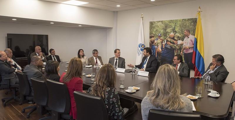 Reconocimiento a Todd Howland, Representante en Colombia del Alto Comisionado de la ONU para los Derechos Humanos