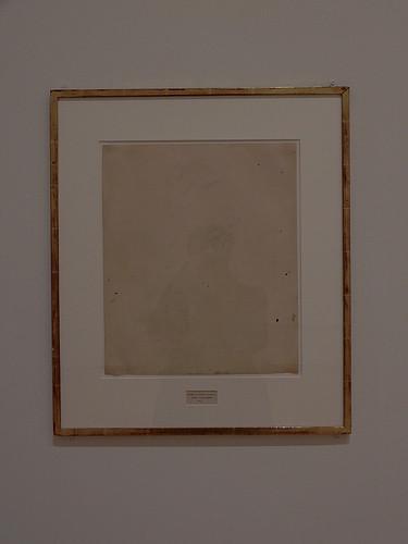 DSCN0155 _ Erased de Kooning Drawing, Rauschenberg, 1953