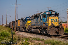 CSX 8106 | EMD SD40-2 | CSX Leewood Yard