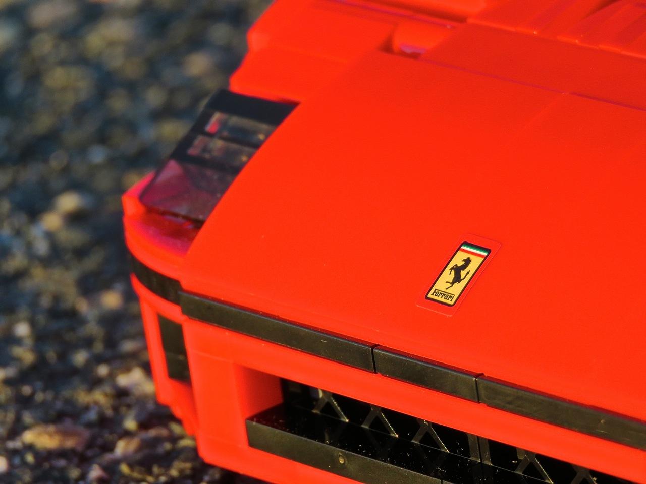 Lego Ferrari F40 9